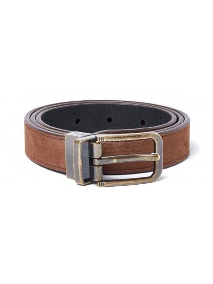 Dubarry Foynes Leather Belt Walnut