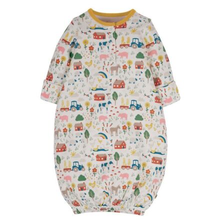Frugi Sleepy Baby Gown Life At The Farm