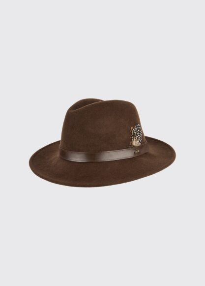 Dubarry Gallagher Felt Hat Bourbon
