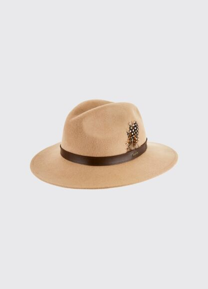 Dubarry Gallagher Felt Hat Sand