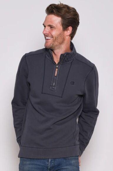 Brakeburn Garment Dyed Sweater Grey