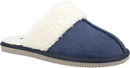 Hush Puppies Arianna Mule Slippers Navy