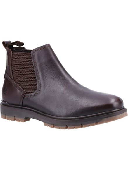 Hush Puppies Paxton Pull On Boots Brown