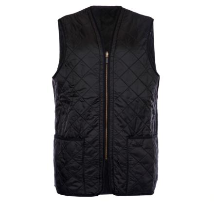 Barbour Polarquilt Waistcoat/Zip-In Liner Black