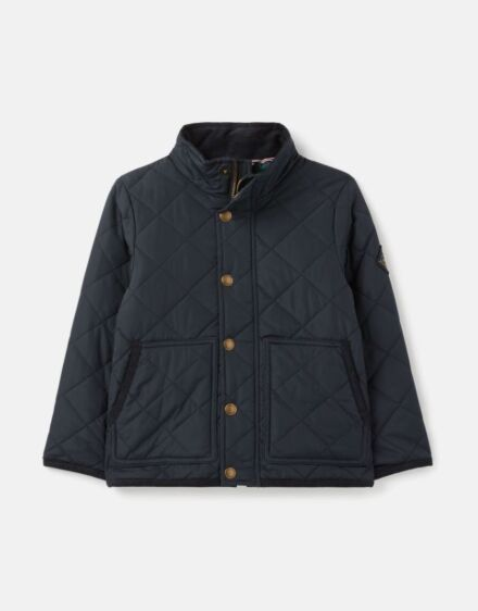 Joules Gilford Quilted Coat Marine Navy