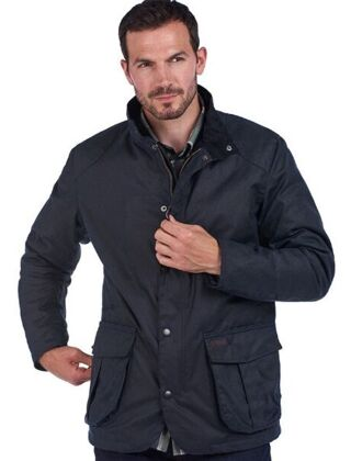 Barbour Gilpin Waxed Jacket Navy