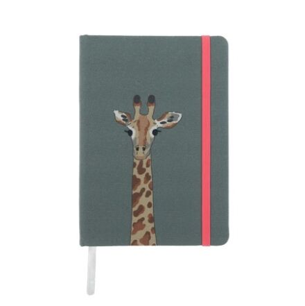 Sophie Allport Giraffe Small fabric Notebook
