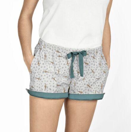 Sophie Allport Giraffe Pyjama Shorts