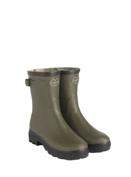 Le Chameau Giverney Women's Bottillon Wellingtons Vert