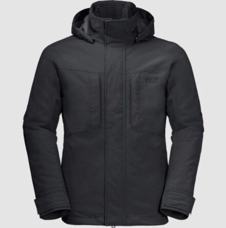 Jack Wolfskin Men's Glacier Jacket Black