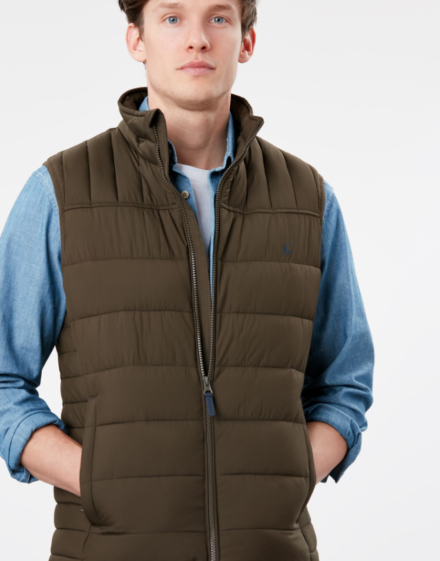 Joules Go To Gilet Green