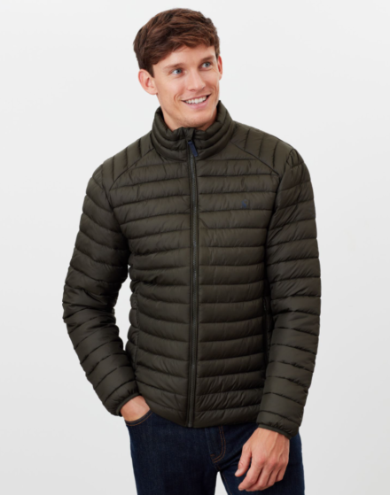 Joules Go to Padded Jacket Olive Green