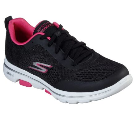 Skechers Go Walk 5 - Exquisite Black/Pink
