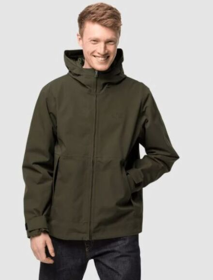 Jack Wolfskin Men's Cold Canyon Jacket Bonsai Green