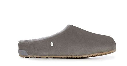 Emu Monch Upper Suede Slippers Charcoal