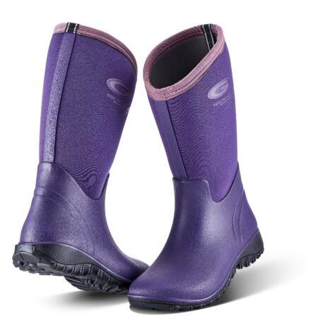 Grubs Tideline Wellington Boot Plum