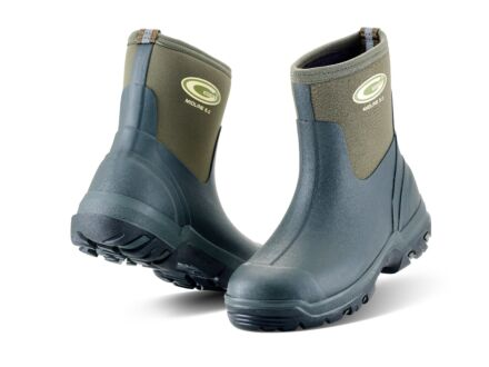 Grubs Midline Wellington Boot Green