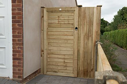 Forest Garden Pressure Treated Square Lap Gate 6ft