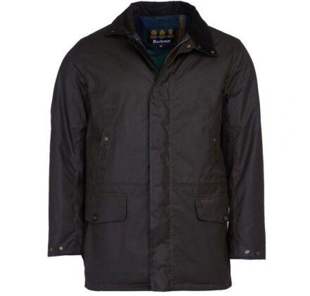 Barbour Hafden Wax Jacket Olive