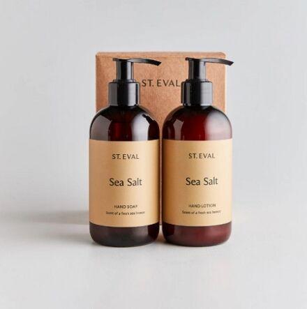 St Eval Hand Wash & Lotion Set Sea Salt