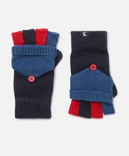 Joules Handy Converter Gloves French Navy