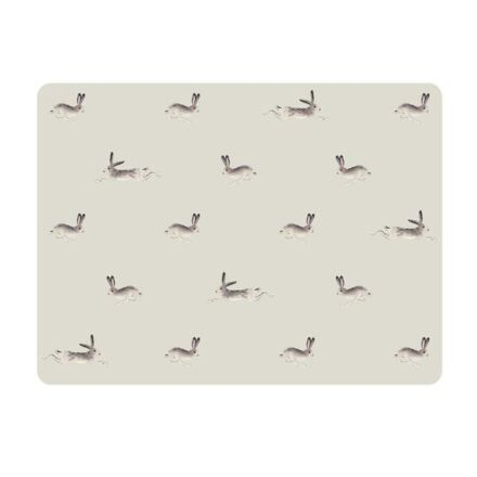Sophie Allport Set of Four Placemats Hare