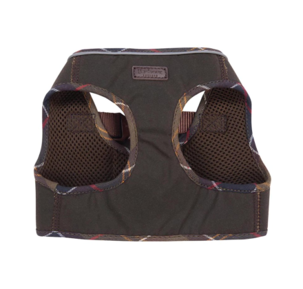 Barbour Wax Step In Dog Harness Olive/Classic