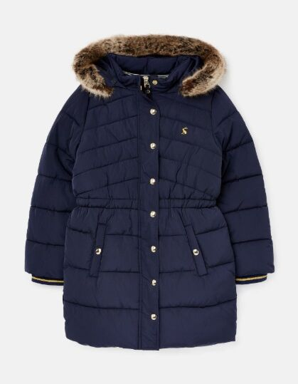 Joules Hartwell Padded Coat French Navy