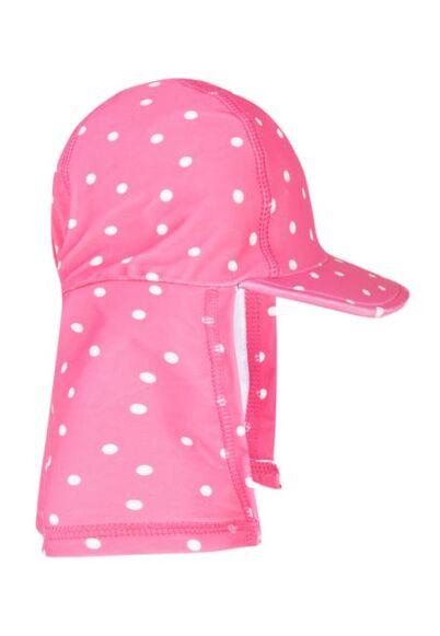 Frugi Little Swim Legionnaires Hat Flamingo Spot