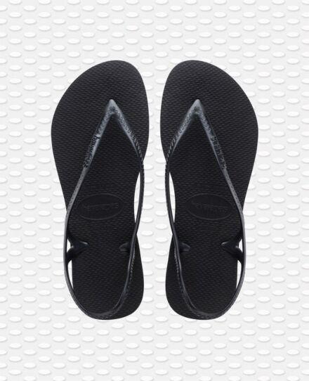 Havaianas Sunny II Flip Flops Black
