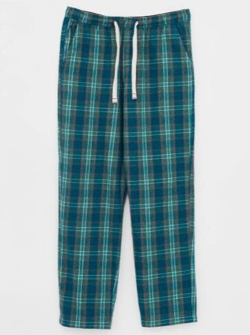White Stuff Hemley Check PJ Bottoms Green Multi