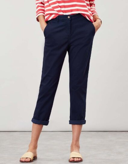 Joules Hesford Crop Chinos French Navy