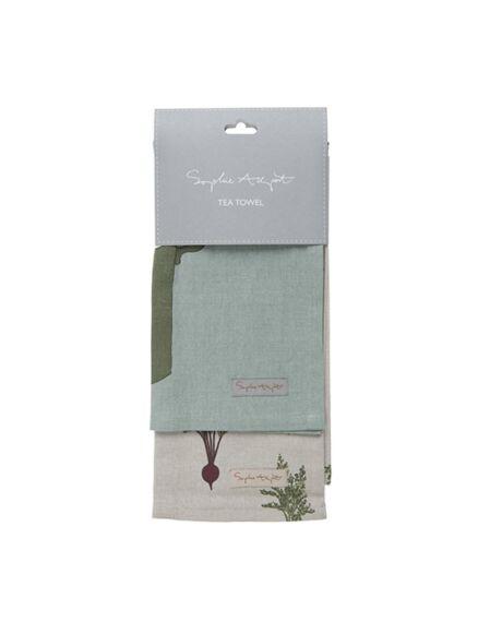 Sophie Allport Tea Towel Set of 2 Home Grown