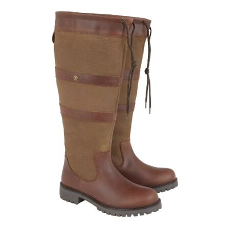 Cabotswood Highgrove Wide Fit Boots Chestnut/Bison