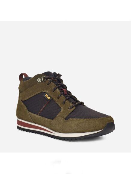 Teva Highside Mid Boots Olive/Black