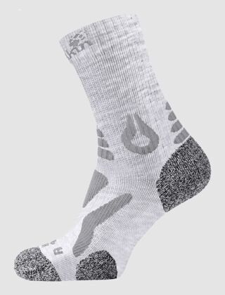 Jack Wolfskin Hiking Pro Classic Sock Light Grey
