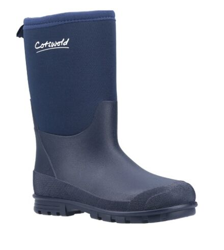 Cotswold Hilly Neoprene Wellies Navy