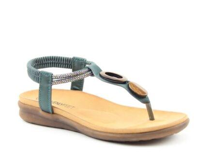 Heavenly Feet Honeydew Sandals Ocean