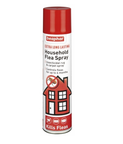 Beaphar Extra Long Lasting Household Flea Spray