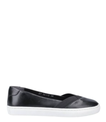 Hush Puppies Tiffany Slip On Shoes Black