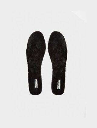 Hunter Luxury Shearling Insoles Black