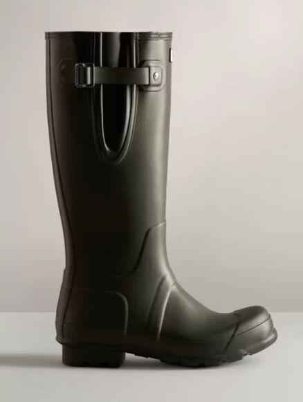 Hunter Men's Original Side Adjustable Boot Dark Olive