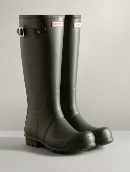 Hunter Men's Original Tall Boot Dark Olive