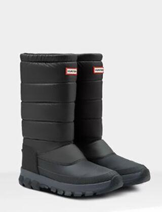 Hunter Men's Original Tall Insulated Snow Boot Black
