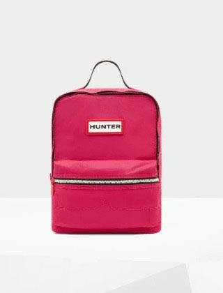 Hunter Original Kids Backpack Bright Pink