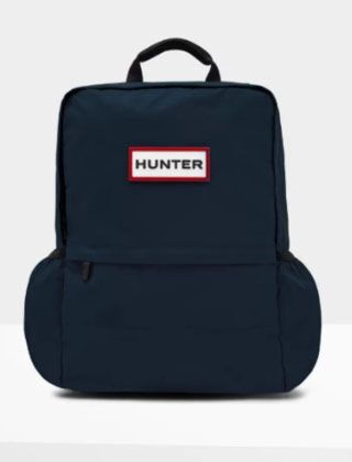 Hunter Original Large Nylon Backpack Navy