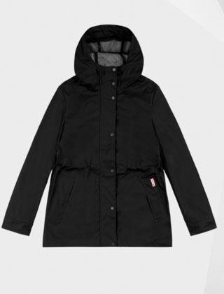 Hunter Original Lightweight Rubberised Jacket Black