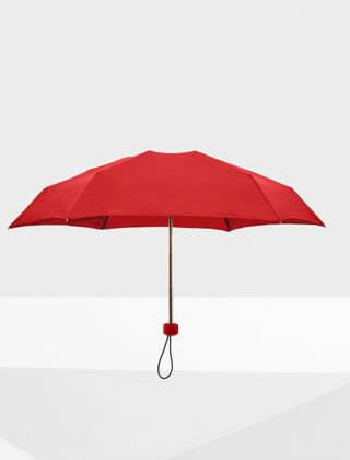 Hunter Original Mini Compact Umbrella Military Red