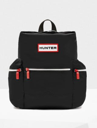 Hunter Original Mini Top Clip Backpack Nylon Black