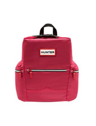 Hunter Original Mini Top Clip Backpack Nylon Bright Pink
